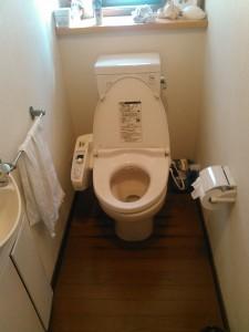 神戸トイレ交換(交換前 )