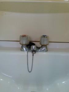 神戸市洗面台蛇口修理(修理後)
