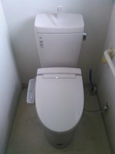 神戸市トイレ水漏れ(交換後)