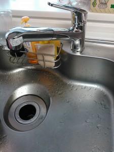 神戸市台所水漏れ修理(修理後)