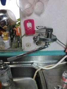 神戸市キッチン水漏れ