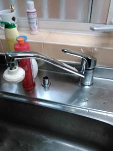 神戸市台所水のトラブル(修理後)
